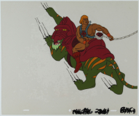 """He-Man"" 11x14 Original (2) Piece Hand Painted Animation Cel at PristineAuction.com"