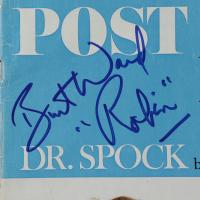 "Burt Ward Signed 1996 Post Magazine Inscribed ""Robin"" (Beckett Hologram) at PristineAuction.com"