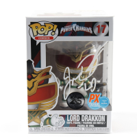 "Jason David Frank Signed ""Power Rangers"" Lord Drakkon #17 Funko Pop! Vinyl Figure Inscribed ""LD"" (Beckett COA) at PristineAuction.com"