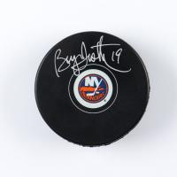 Bryan Trottier Signed Islanders Logo Hockey Puck (COJO COA & Frozen Pond Hologram) at PristineAuction.com