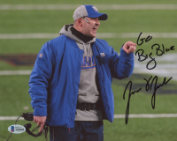 "Joe Judge Signed Giants 8x10 Photo Inscribed ""Go Big Blue"" (Beckett COA) at PristineAuction.com"