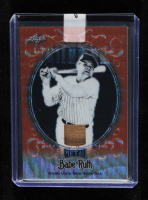Babe Ruth 2019 Leaf Metal Babe Ruth Collection Bats Wave Orange #SB14 at PristineAuction.com