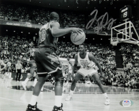 Tim Hardaway Signed Heat 8x10 Photo (PSA COA) at PristineAuction.com