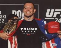 Colby Covington Signed UFC 8x10 Photo (Beckett COA) at PristineAuction.com