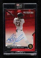 Fernando Tatis Jr. 2020 Topps Now Postseason Autographs Red #PS61D at PristineAuction.com