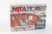 2020-21 NBA Hoops Premium Stock Basketball Mega Box with (18) Packs at PristineAuction.com