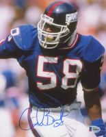 Carl Banks Signed Giants 8x10 Photo (Beckett COA) at PristineAuction.com