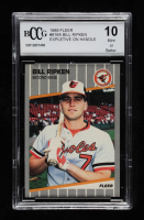 Bill Ripken 1989 Fleer #616A (BCCG 10) at PristineAuction.com