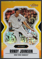 Randy Johnson 2007 Finest Refractors Gold #90 #12/50 at PristineAuction.com