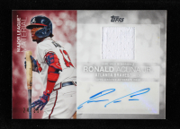 Ronald Acuna Jr. 2020 Topps Major League Material Autographs #MJMARA S2 at PristineAuction.com