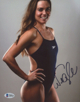 Natalie Coughlin Signed Team USA 8x10 Photo (Beckett COA) at PristineAuction.com