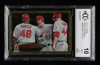 Mike Trout 2012 Topps Gold Sparkle #446 (BCCG 10) at PristineAuction.com