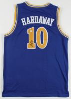 Tim Hardaway Signed Warriors Jersey (PSA COA) at PristineAuction.com