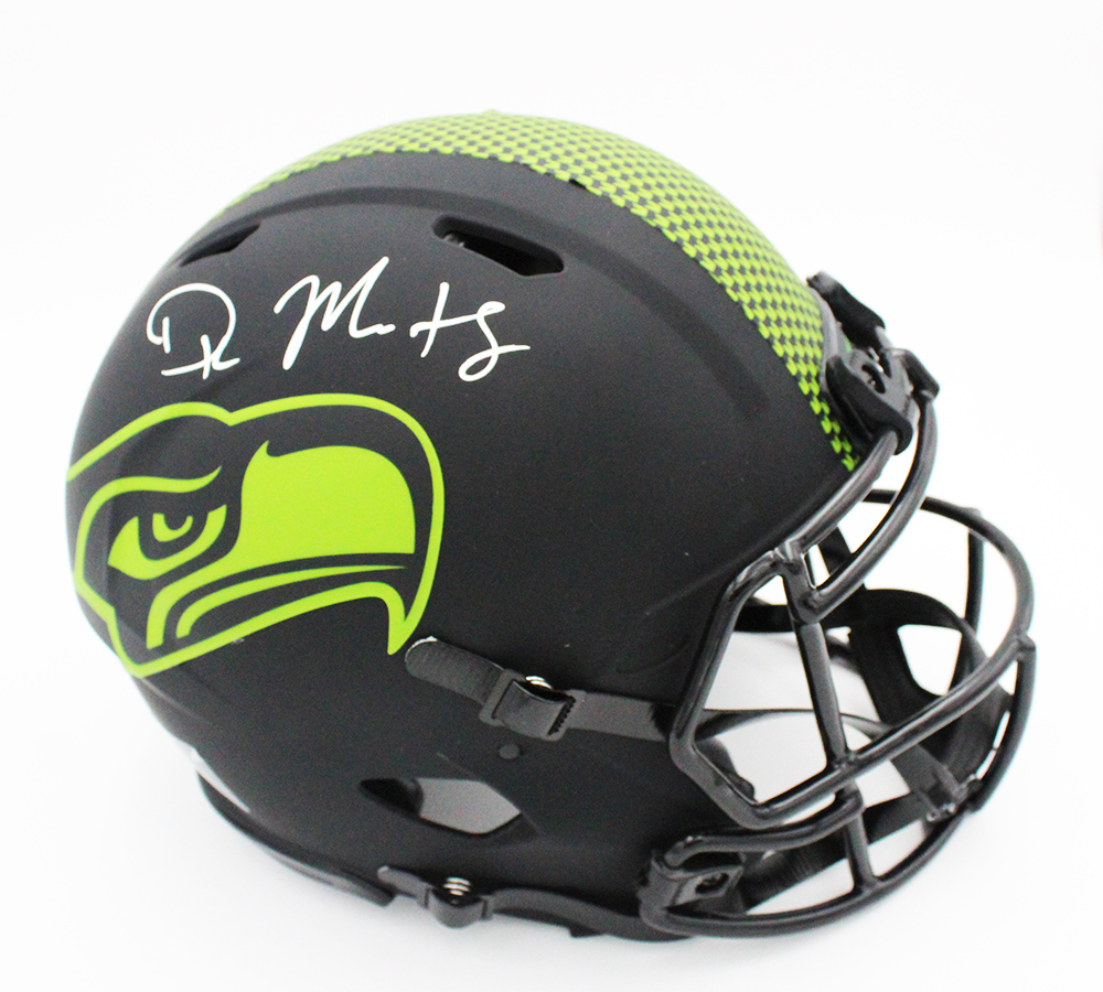 DK Metcalf Signed Seahawks Full-Size Authentic On-Field Eclipse Alternate Speed Helmet (Fanatics Hologram) at PristineAuction.com