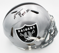 Henry Ruggs III Signed Raiders Full-Size Authentic On-Field Speed Helmet (Fanatics Hologram) at PristineAuction.com