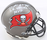 "Dexter Jackson Signed Buccaneers Mini Helmet Inscribed ""SB XXXVII MVP"" (JSA COA) at PristineAuction.com"