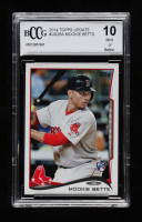 Mookie Betts 2014 Topps Update #US26A RC (BCCG 10) at PristineAuction.com