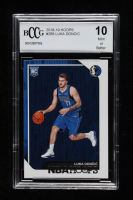 Luka Doncic 2018-19 Hoops #268 RC (BCCG 10) at PristineAuction.com