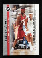LeBron James 2003-04 Upper Deck Phenomenal Beginning LeBron James #9 / An Active Defender at PristineAuction.com