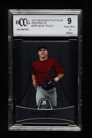Mike Trout 2010 Bowman Platinum Prospects #PP5 (BCCG 9) at PristineAuction.com