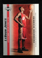 LeBron James 2003-04 Upper Deck Phenomenal Beginning LeBron James #1 / An Extremely Talented at PristineAuction.com