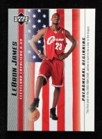 LeBron James 2003-04 Upper Deck Phenomenal Beginning LeBron James #20 / The First Pick at PristineAuction.com
