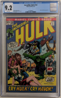 "1972 ""The Incredible Hulk"" Issue #150 Marvel Comic Book (CGC 9.2) at PristineAuction.com"