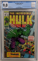 "1970 ""The Incredible Hulk"" Issue #127 Marvel Comic Book (CGC 9.0) at PristineAuction.com"