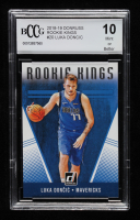 Luka Doncic 2018-19 Donruss Rookie Kings #20 (BCCG 10) at PristineAuction.com