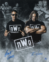 Kevin Nash & Scott Hall Signed WWE 16x20 Photo (Pro Player Hologram) at PristineAuction.com