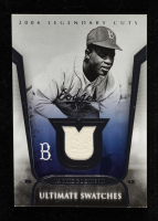 Jackie Robinson 2004 SP Legendary Cuts Ultimate Swatches #JR Jersey at PristineAuction.com