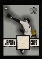 Mickey Mantle 2001 Upper Deck Gold Glove Game Jersey #GGMMA SP at PristineAuction.com