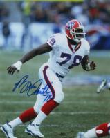 Bruce Smith Signed Bills 16x20 Photo (JSA COA) at PristineAuction.com