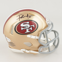 Frank Gore Signed 49ers Speed Mini-Helmet (Beckett COA) (See Description) at PristineAuction.com