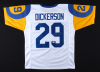 """Eric Dickerson Signed Jersey Inscribed """"HOF 99"""" (JSA COA) at PristineAuction.com"""