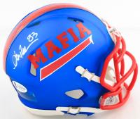 Andre Reed Signed Bills Speed Mini Helmet (Beckett COA) at PristineAuction.com