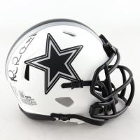 Michael Irvin Signed Cowboys Lunar Eclipse Alternate Speed Mini-Helmet (Beckett Hologram) at PristineAuction.com