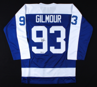 "Doug Gilmour Signed Jersey Inscribed ""HOF 11"" (JSA COA) (See Description) at PristineAuction.com"