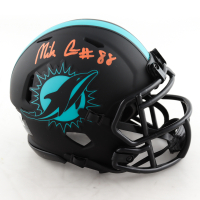 Mike Gesicki Signed Dolphins Eclipse Alternate Speed Mini-Helmet (Beckett Hologram) at PristineAuction.com