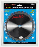 "Tobin Bell Signed 7.25"" Saw Blade (JSA Hologram) at PristineAuction.com"