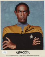 "Tim Russ Signed ""Star Trek: Voyager"" 8x10 Photo (JSA COA) at PristineAuction.com"