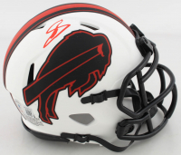 Stefon Diggs Signed Bills Lunar Eclipse Alternate Speed Mini Helmet (Beckett Hologram) at PristineAuction.com