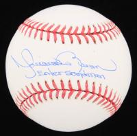 "Mariano Rivera Signed OML Baseball Inscribed ""Enter Sandman"" (JSA COA) at PristineAuction.com"