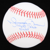 "Mariano Rivera Signed OML Baseball Inscribed ""MLB Debut 5/23/95"" (JSA COA) at PristineAuction.com"