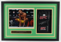 Anderson Silva Signed 15.5x22.5x2 Custom Framed UFC Glove & Photo Shadowbox Display (JSA COA & TriStar Hologram) (See Description) at PristineAuction.com