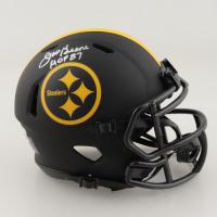 "Joe Greene Signed Steelers Eclipse Alternate Speed Mini Helmet Inscribed ""HOF 87"" (Beckett Hologram) at PristineAuction.com"