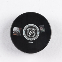 Mats Sundin Signed Maple Leafs Logo Hockey Puck (COJO COA) at PristineAuction.com