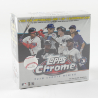 2020 Topps Chrome Update Baseball Mega Box with (7) Packs at PristineAuction.com