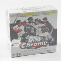 2020 Topps Chrome Update Series Baseball Mega Box with (7) Packs at PristineAuction.com