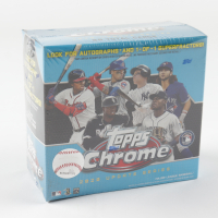 2020 Topps Chrome Update Baseball Mega Box with (7) Packs (See Description) at PristineAuction.com